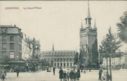 BE  COURTRAI   / La Grand Place / - Kortrijk