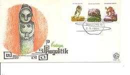 Archéologie -Mégalitique ( FDC D'Indonésie De 1980 à Voir) - Archäologie