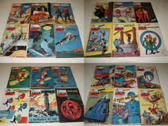 Tintin - Le Journal Des Jeunes De 7 à 77 Ans - Année 1959 - 51 Numéros - HERGÉ MARTIN JACOBS CUVELIER FRANQUIN GOSCINNY - Tintin