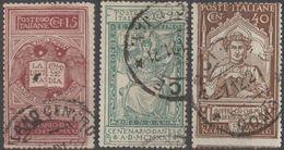 Italie 1921 N° 116-118  (afp3) - Afgestempeld