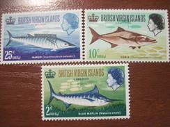 British Virgin Islands 1967 Game Fishing Fish  MNH - British Virgin Islands