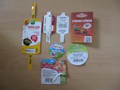 Lot De 6 étiquettes Fruits Et Légumes (Labels) - Fruits & Vegetables
