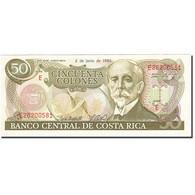 Costa Rica, 50 Colones, 1990-1992, 1993-06-02, KM:257a, SUP - Costa Rica