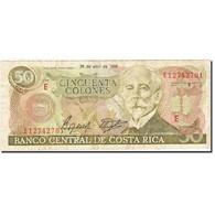 Costa Rica, 50 Colones, 1983-1988, 1988-04-26, KM:253, TB - Costa Rica