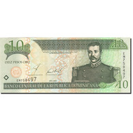 Dominican Republic, 10 Pesos Oro, 2001-2002, 2002, KM:168b, NEUF - Dominicaine