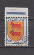 """FRANCE / 1951 / Y&T N° 901 : """"5ème Série Armoiries Des Provinces"""" (Béarn) - Choisi - Cachet Rond - Usados"""