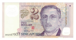 Singapour, 2 Dollars, 2005, KM:46b, NEUF - Singapore