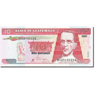 Guatemala, 10 Quetzales, 1998-1999, 1998-07-29, KM:101, NEUF - Guatemala