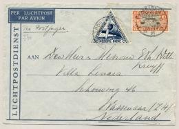 Nederlands Indië - 1934 - Postjager Vlucht Van Soerabaja Naar Wassenaar / NL - Nederlands-Indië