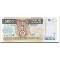Costa Rica, 5000 Colones, 1993-1997, KM:266a, 1996-03-27, TTB - Costa Rica