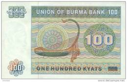 BURMA P. 61 100 K 1976 UNC - Myanmar
