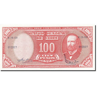 Chile, 10 Centesimos On 100 Pesos, 1960, Undated (1960-1961), KM:127a, SPL - Chili