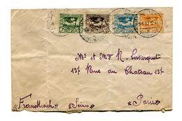 !!! LETTRE DE HAUTE SILESIE (OCCUPATION FRANCAISE) DU 3/6/1920 POUR PARIS - Postmark Collection (Covers)