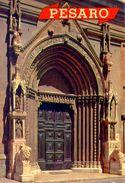 Riviera Adriatica - Pesaro - Portale Chiesa S.agostino - 131-190 - Formato Grande Viaggiata – E 2 - Forlì
