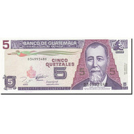 Guatemala, 5 Quetzales, 1993-1995, 1993-10-27, KM:88a, SPL - Guatemala