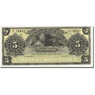 Costa Rica, 5 Pesos, 1900, KM:S163r1, 1899-04-01, NEUF - Costa Rica