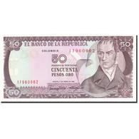Colombie, 50 Pesos Oro, 1982-1984, 1986-01-01, KM:425b, NEUF - Colombia