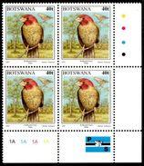 Botswana - 1997 Birds 40t Finch Block '1A' (**) - Botswana (1966-...)