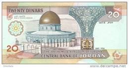 JORDAN P. 32a 20 D 1995 UNC - Jordanie