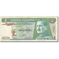 Guatemala, 1 Quetzal, 1983, 1988-01-06, KM:66, TB - Guatemala