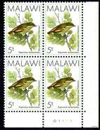 Malawi - 1988 Birds 5t Tinkerbird Corner Block 'D1' (**) - Malawi (1964-...)