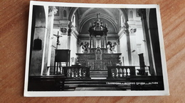 Italie Italia Travedona Interno Chiesa Altare - Pavia