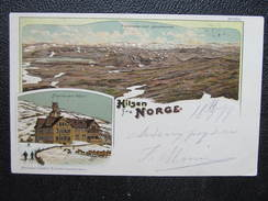 AK JOTUHEIMEM Maristuen Hotel 1909 Litho  // D*26048 - Norwegen