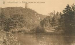 ARDENNE-HOUYET - Le Château - La Lesse Et La Tour Du Rocher - Houyet