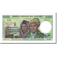 Comoros, 5000 Francs, 1984, KM:12b, NEUF - Comoren