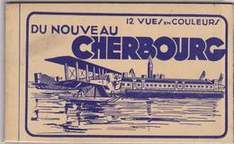 Carnet Complet 12 Cpa -50 -nouveau Cherbourg-edi A Becquemin - Cherbourg