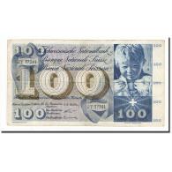 Suisse, 100 Franken, 1956-10-25, KM:49a, TB - Suiza