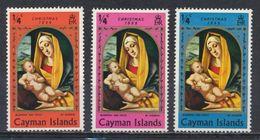 °°° CAYMAN ISLANDS - CHRISTMAS - 1969 MNH °°° - Cayman (Isole)