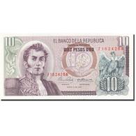 Colombie, 10 Pesos Oro, 1961-1964, 1969-01-02, KM:407c, SPL - Colombie