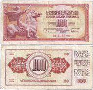 Yugoslavia 100 Dinara 1978 Pick 90.a Ref 1349 - Yugoslavia