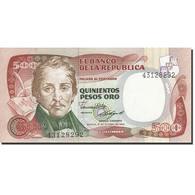 Colombie, 500 Pesos Oro, 1980-1982, 1985-10-12, KM:423c, NEUF - Colombie