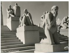 (PF 369) Norway - Oslo - Vigelandanlegget Garden Statue - Norway