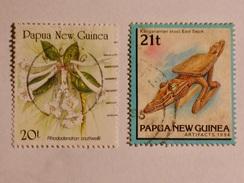 PAPUA NOUVELLE GUINÉE  1989-95   LOT# 8 - Papua-Neuguinea