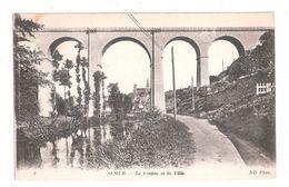 CPA 21 No.8. SEMUR - Le Viaduc Et La Ville  Achat Immédiat French Bridge Viaduct - Semur