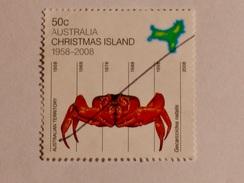 CHRISTMAS ISLAND  2008   LOT# 5  CRAB - Christmas Island