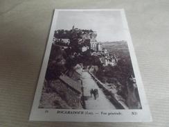 CP ROCAMADOUR VUE GENERALE - Rocamadour