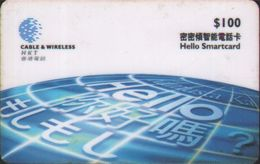 Telecom Hello Smartcard,prepaid And Chip Double Uses Phonecard,used - Hong Kong