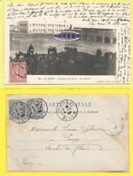 CPA EL GOLEA Intérieur Du Fortin LE PAVILLON 1906 ( Précurseur ) - Algérie