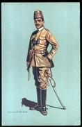 Turkey Kavallerieofficer In Felden Form (Khaki) 1914-15 Posted 1915 Allenstein Poland - Turkey