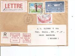 France ( Lettre Recommandée De 1985 De Vitry-sur-Seine Vers L'Espagne à Voir) - Lettres & Documents