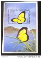 MADAGASIKARA   1394  MINT NEVER HINGED SOUVENIR SHEET OF BUTTERFLIES  #  532-3  ( - Vlinders