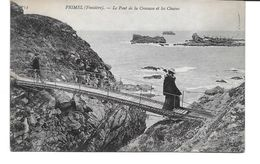 FINISTERE-PRIMEL Le Pont De La Crevasse Et Les Chaises-MO - Primel