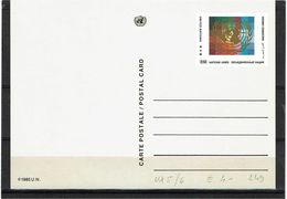 NATIONS UNIES 2 EP CP NEUVES - Sonstige