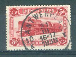 """BELGIE - OBP  TR Nr 177 - Cachet  """"ANTWERPEN 10"""" Litt. K - (ref. 13.683) - Chemins De Fer"""