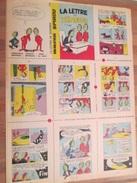 Rare MINI-RECIT SPIROU Années 60/70 Entier,  à Découper Pour Montage : N°176 LA LETTRE DE XENOPOS - Spirou Magazine