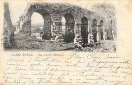 Constantine - Les Arcades Romaines - Carte V.P. N° 441, Dos Simple - Konstantinopel